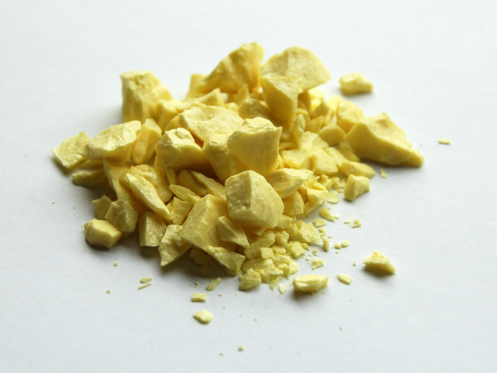 Sulfur or sulphur Acid